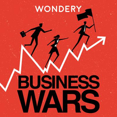Netflix vs. HBO. Nike vs. Adidas. Business is war. Sometimes the prize is your wallet or your attention. Sometimes, it's just the fun of beating the other guy. The outcome of these battles shapes what we buy and how we live. Business Wars gives you the unauthorized, real story of what drives these companies and their leaders, inventors, investors and executives to new heights -- or to ruin. Hosted by David Brown, former anchor of Marketplace. From Wondery, the network behind Dirty John and American History Tellers.