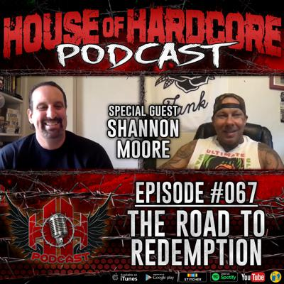 Cover art for Episode #067 - The Road To Redemption with Shannon Moore