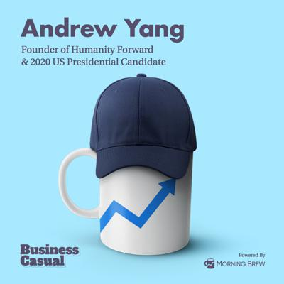 Cover art for Andrew Yang is literally trying to give you money