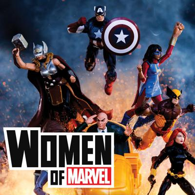 Cover art for Unboxing Marvel Toys with Sarah Ramos