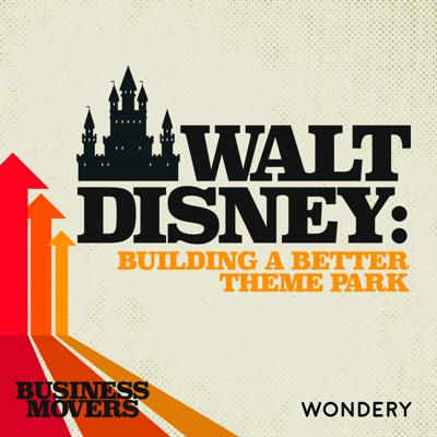 "Cover art for Walt Disney: Building a Better Theme Park | Author Chad Denver Emerson on the Success, or Failure, of ""Project Future"" 