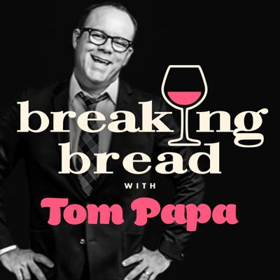 Comedian and bread baker, Tom Papa, is the perfect host, inviting guests to join himfor an hour of eating, drinking and enjoying life. Listeners are invited to take a seatat the table as Tom and his guests celebrate the true meaning of breaking bread withinsightful, revealing and always funny conversations.