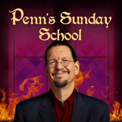 Join us as Penn Jillette, Michael Goudeau, Matt Donnelly, and YOU discuss the news of the week. We'll examine religious news, talk about monkeys, and anything else that seems funny or makes us mad. We'll also take your suggestions for things you feel like talking about. We run a live video stream from Show Creators Studios for people with the time and inclination to watch people sitting and talking. The live show starts Sundays at noon Vegas time, at www.twitch.tv/reddirich, & is usually available for download from your favorite podcast aggregator by 9 am Monday morning.