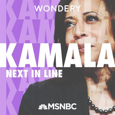 """KamalaHarris may be on the cusp of becoming Vice President following one of the most tumultuous elections in U.S. history. Hosted by MSNBC'sJoy Reid, """"Kamala: Next In Line""""tells the cross-cultural journey that led Harris from her humble roots to become the firstBlack woman to representCalifornia in the Senate and now the firstBlackwoman to be the Vice-Presidential nominee for a major party. From Oakland to Howard University,from California to Washington D.C., experience her story as it has never been told before. From Wondery, theteam behind """"The Shrink Next Door,"""