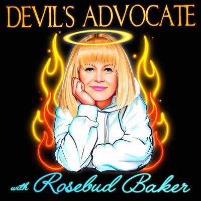 """Standup comic Rosebud Baker has been called a lot of things: """"tiny demon,"""" """"satanic rascal,"""" """"atomic bulldozer."""" She may not be a good person, but she's a pretty funny one. """"Devil's Advocate w/ Rosebud Baker"""" features interviews with other stand-ups that dig into what's funny about the worst things that happen to us, and why those things make us funny."""