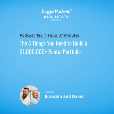 Cover art for 483: The 5 Things You Need to Build a $1,000,000+ Rental Portfolio