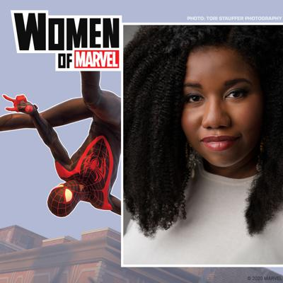 Cover art for Brittney Morris on Writing Miles Morales