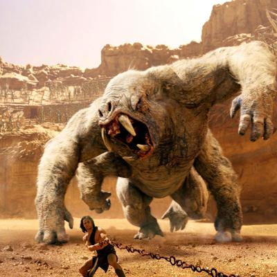 Cover art for John Carter (2012)