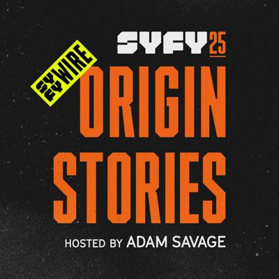 SYFY25: Origin Storiesis a collection of 15 podcasts hosted by sci-fi celebrity and superfan Adam Savage, featuring in-depth discussions with the creators, influencers and experts who have made the genre what it is today.