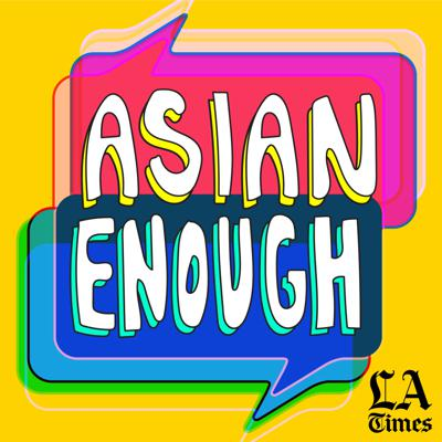 """From the Los Angeles Times, """"Asian Enough"""" is a podcast about being Asian American -- the joys, the complications and everything else in between. In each episode, hosts Jen Yamato and Frank Shyong invite celebrity guests to share their personal stories and unpack identity on their own terms. They explore the vast diaspora across cultures, backgrounds and generations, share """"Bad Asian Confessions,"""" and try to expand the ways in which being Asian American is defined. The first and second episodes will premiere on March 17 everywhere podcasts are available, with new episodes dropping every Tuesday."""