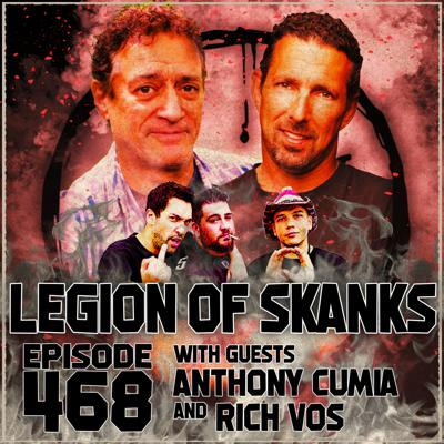 Cover art for Episode 468 - Feather vs. Apple - Anthony Cumia & Rich Vos