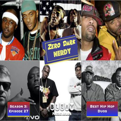 Cover art for S3E27: Favorite Hip Hop Duos