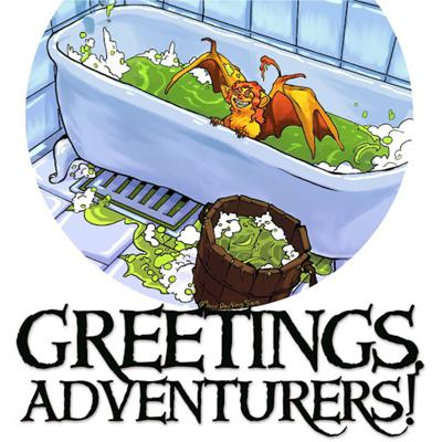 Cover art for Greetings, Adventurers! / Dear Internet Cross Over Bonus Episode Extravaganza