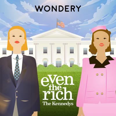"Our lives can be crazy, but you can take a break from it all with Wondery's new series, Even the Rich, where co-hosts Brooke Siffrinn and Aricia Skidmore-Williams pull back the curtain and chat about someone else's craziness for a change. They tell stories about some of the greatest family dynasties in history, from the Murdochs to the Royals to the Carters (Jay-Z and Beyoncé, that is). Because as Queen Elizabeth once said, ""A good gossip is a wonderful tonic."""