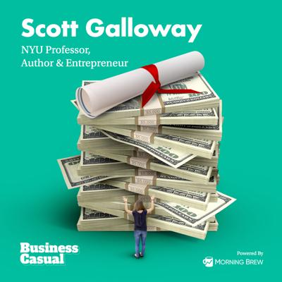 Cover art for We woke up in dystopia: Scott Galloway on higher education's biggest failures