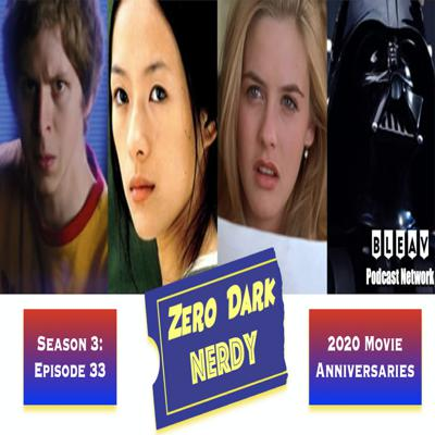 Cover art for S3E33: 2020 Movie Anniversaries