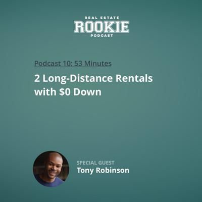 Cover art for 2 Long-Distance Rentals with $0 Down with Tony Robinson