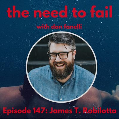 Cover art for Episode 147: James T. Robilotta