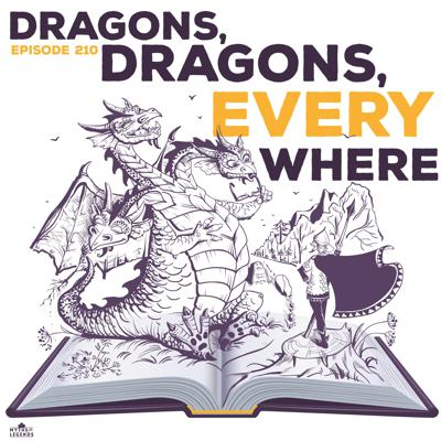 Cover art for 210-Russian Legends: Dragons, Dragons Everywhere