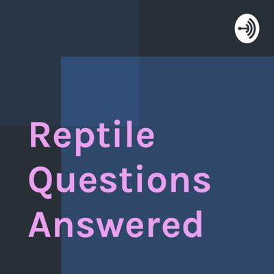 I answer questions about reptiles and amphibians that frequently come up from reptile store customers.