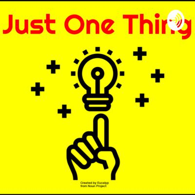 Just One Thing: Tips for Teachers