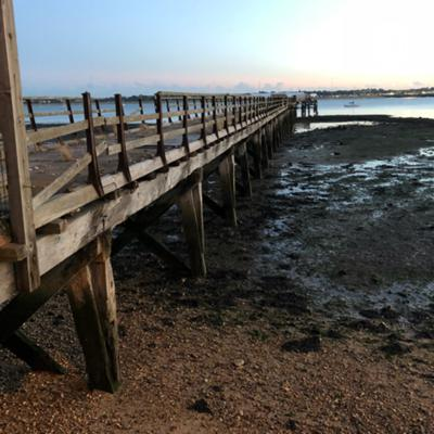 Monthly podcast from Shotley Pier in Suffolk