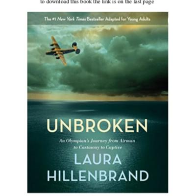 A podcast about the book Unbroken by Laura Hillenbrand