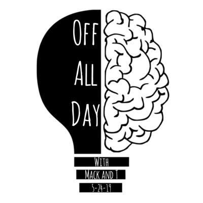 A weekly show where two guys start with one question and see where it takes them!  Listeners are encouraged to keep track of each topic covered no matter how big or small. The first one to submit the most complete list of topics via e-mail will get some sort of a prize! Support this podcast: https://anchor.fm/OffAllDay/support