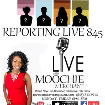 Cover art for Reporting Live 845 Online Talk Show💋