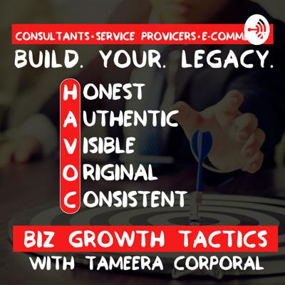 Welcome to Biz Growth Tactics! This is the space to learn from the best teacher-past mistakes. We are here to share all things business growth with consultants, service providers, e-commerce store owners, and aspiring business owners who want to straighten that learning curve. We publish a new episode every Tuesday that will teach you useful information and actionable tips that you can use in your business immediately.