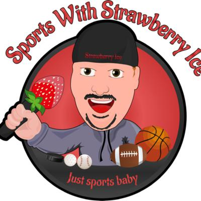 Sports with strawberry ice