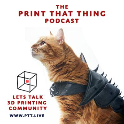 Make money with your 3D print skills. Join us LIVE every Wed @ 5pm at www.PTT.live to ask questions and learn how to turn your hobby of 3D printing into a career.  Support this podcast: https://anchor.fm/printthatthing/support