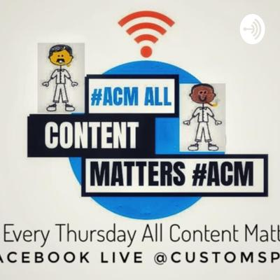 Check it out we are here to splish and get ya mind to think and pay attention to the things around you and the people and the content because again all content matters!! tune in every Thursday on Facebook for live! Youtube for the video after the fact as well! WE LIKE TO TALK SPLISH AND PLAY INDENEPENT ARTIST MUSIC!