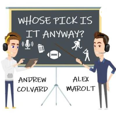 A snake draft style podcast where your hosts Andrew Colvard and Alex Marolt conduct the most obscure snake drafts we can think of. Everything from which Adam Sandler character you are taking for your starting 5 basketball lineup to which past presidents you are inviting to your bachelor party. We will cover it all!  Follow us on Instagram @whosepickisitanyway.