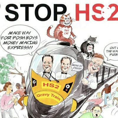 Lizzy Williams Stopping HS2