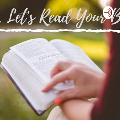 Girl Let's Read Your Bible