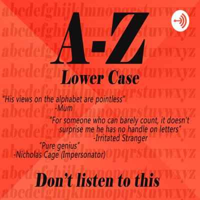 A-Z (lower case) Part 1 of 2