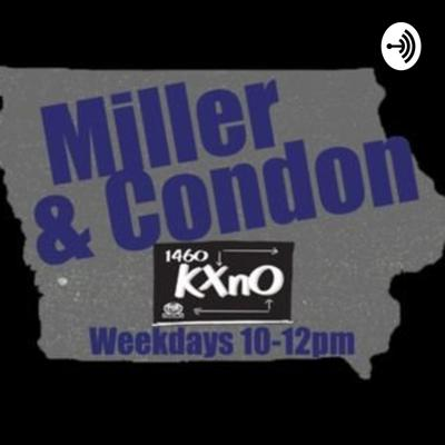 Miller & Condon on 106.3 FM & 1460 KXnO