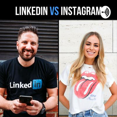 LinkedIn vs Instagram - The Best Podcast in the History of the Universe  Hosted by Brooke Vulinovich and Nathanial Bibby.