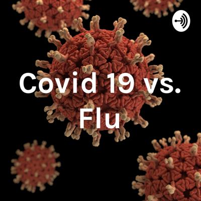 This shows how Covid 19 and flu are different by explaining their causes, symptoms, and how they transmit.