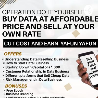 Data Reselling Business