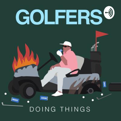 Golfers Doing Things