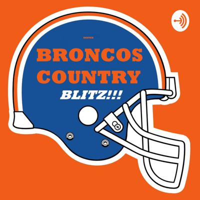 This is a podcast for die hard Denver Broncos Fans. It'll be a Blitz discussion the next day following the draft, post-game, along with week in review segments during active weeks in the offseason, plus even little segments I like to call