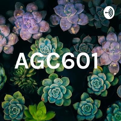 Podcast for AGC601 to present their case study summary