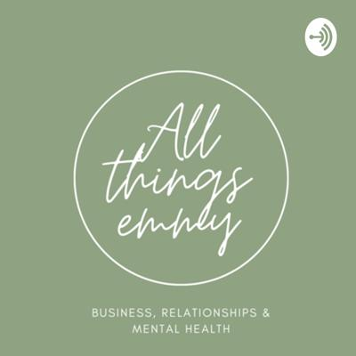 Emmy is a young entrepreneur on the journey of getting out of her own way. This podcast openly discusses what it's really like to work for yourself, navigating relationships as a successful women and dealing with mental health.