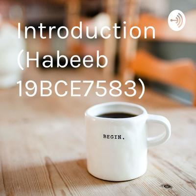 Introduction (Habeeb 19BCE7583)