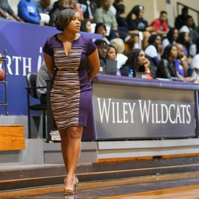 Cover art for Wiley College TX Head Coach Lenise Stallings