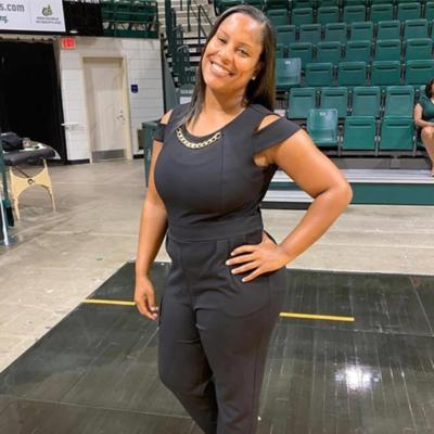Cover art for UNC Charlotte Assistant Coach Nicole Woods