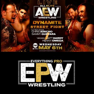 Cover art for AEW Dynamite 5-6-20 Full Show Review || Road To Double Or Nothing ||