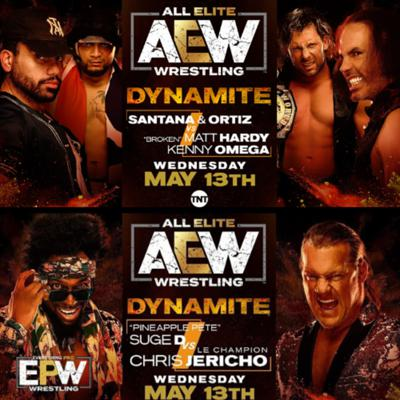 Cover art for AEW Dynamite 5-13-20 Full Show Review || Road To Double Or Nothing ||